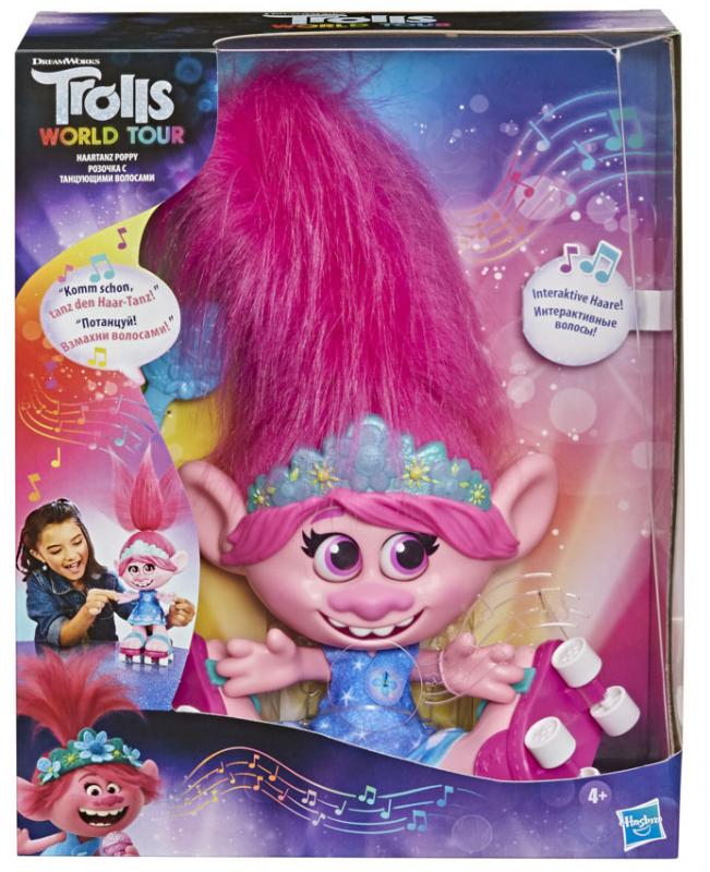 Wholesalers of Trolls Dancing Hair Poppy toys