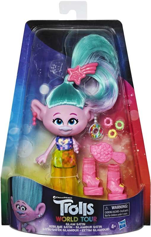 Wholesalers of Trolls Glam Satin toys