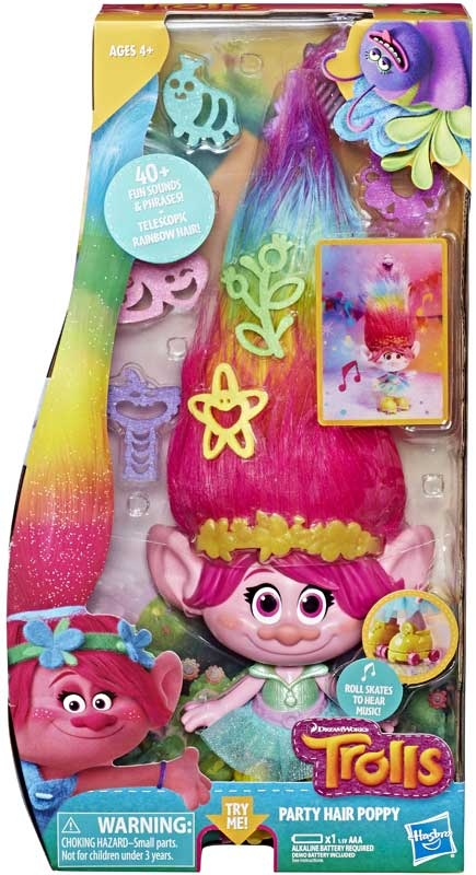 Wholesalers of Trolls Party Hair Poppy toys