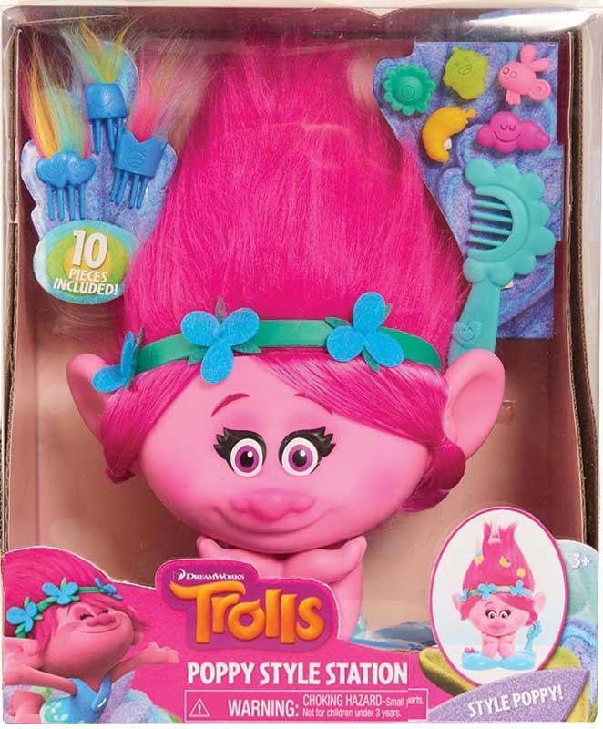 Wholesalers of Trolls Poppy Style Station toys