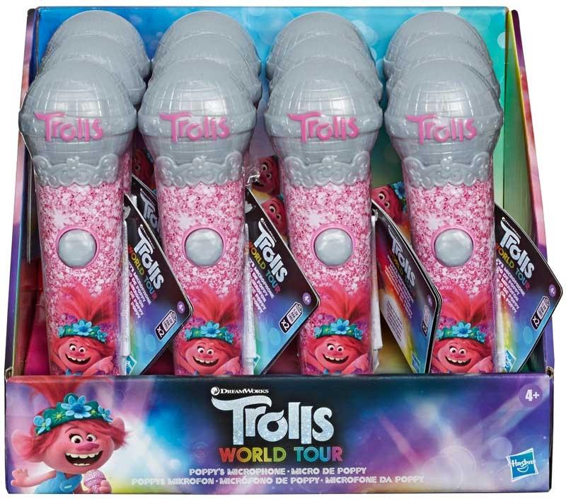 Wholesalers of Trolls Poppys Microphone toys