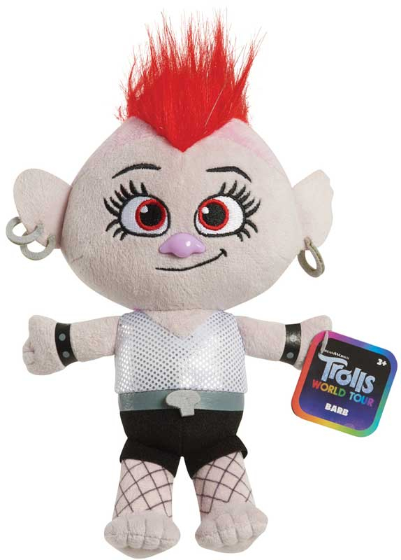 Wholesalers of Trolls Small Plush With Sound Asst toys
