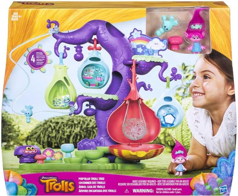 Wholesalers of Trolls Troll Town Podular Tree toys