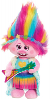 Wholesalers of Trolls World Tour Dancing Feature Poppy Plush toys image 2