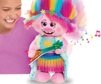 Wholesalers of Trolls World Tour Dancing Feature Poppy Plush toys image 3