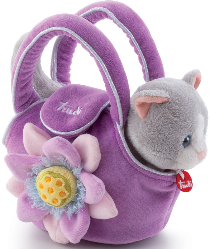 Wholesalers of Trudi Bags - Kitty In The Bag toys