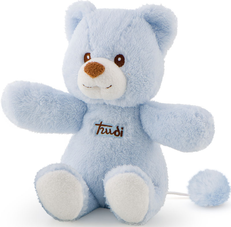 Wholesalers of Trudi Cremino Bear With Music Box Blue toys