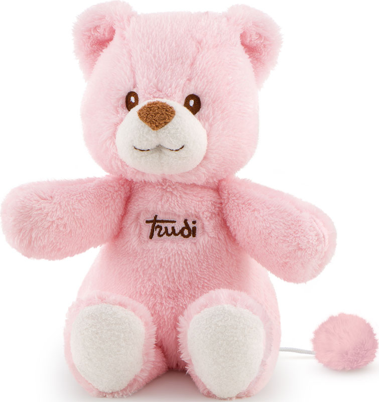 Wholesalers of Trudi Cremino Bear With Music Box Pink toys