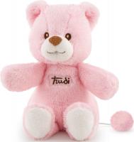 Wholesalers of Trudi Cremino Bear With Music Box Pink toys image