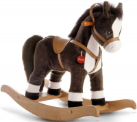 Wholesalers of Trudi Rocking Animals Rocking Horse Brown Jumbo toys image