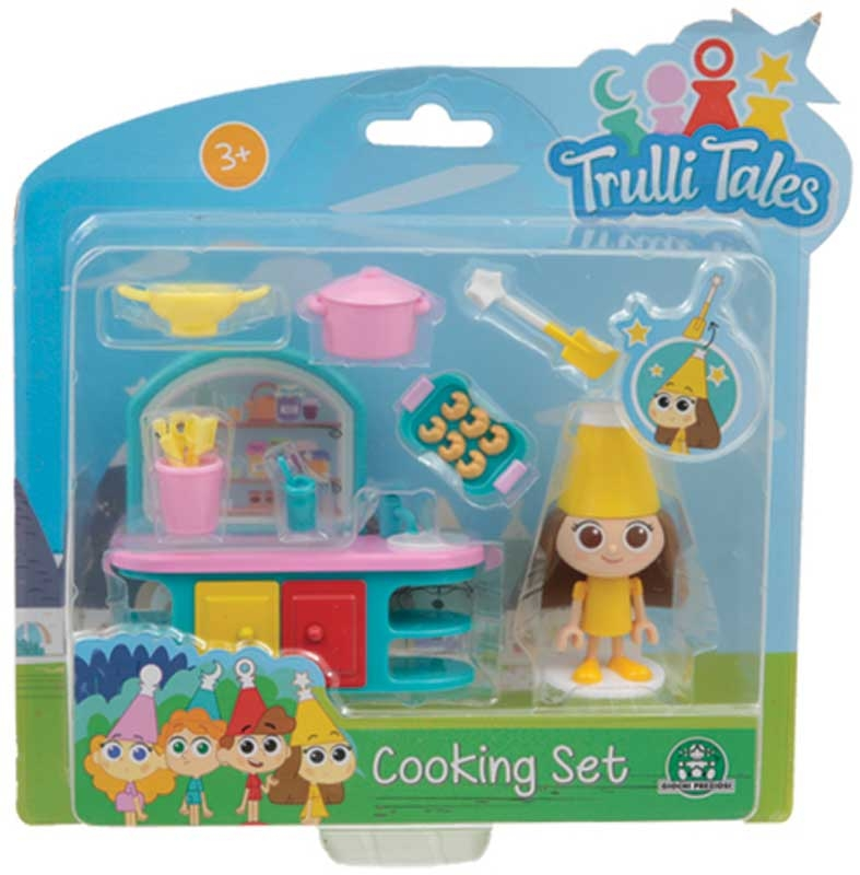 Wholesalers of Trulli Tales Cooking Set With Mini Figure Asst toys