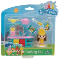 Wholesalers of Trulli Tales Cooking Set With Mini Figure Asst toys image