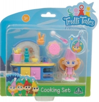 Wholesalers of Trulli Tales Cooking Set With Mini Figure Asst toys image 2