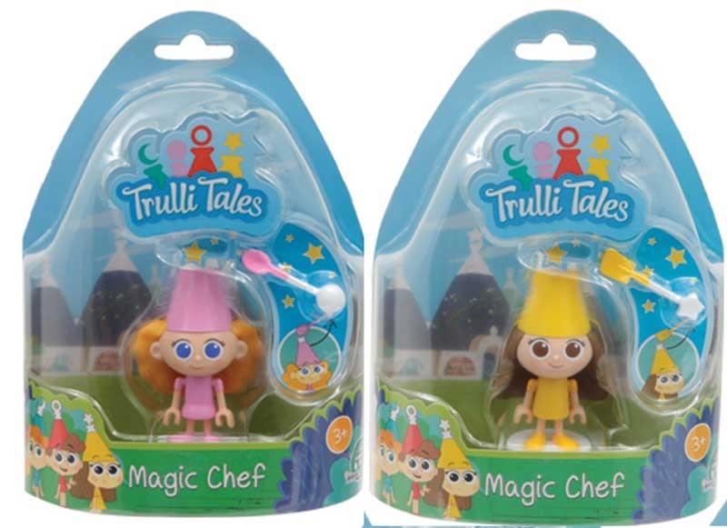 Wholesalers of Trulli Tales Magic Chef Mini Figures Asst toys
