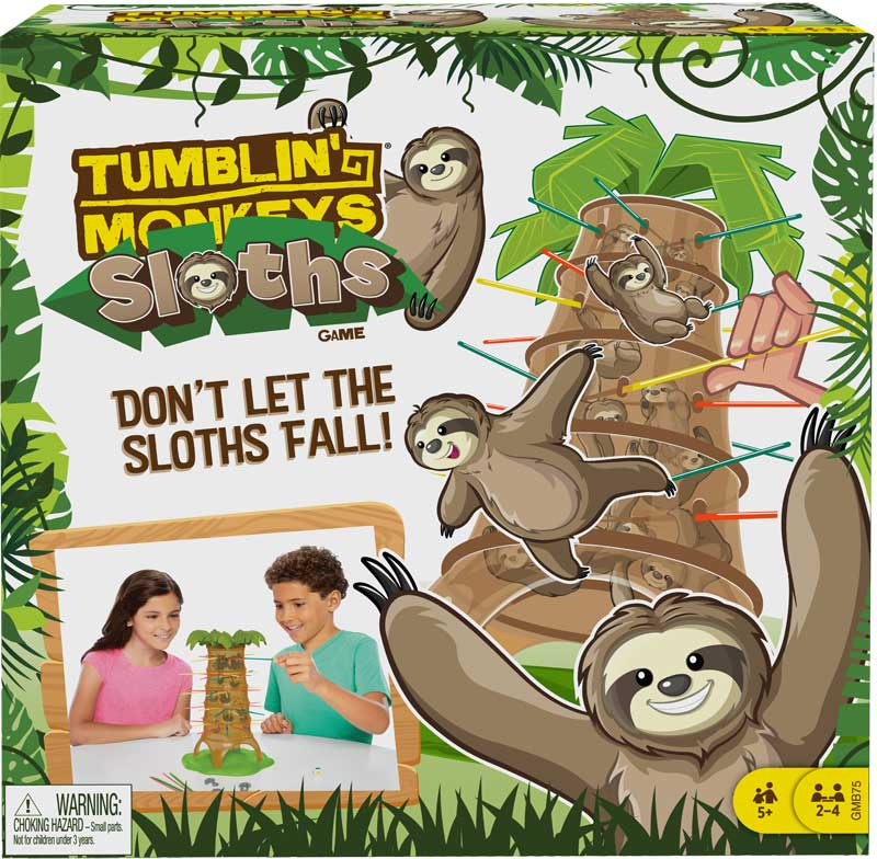 Wholesalers of Tumblin Monkeys Sloths toys