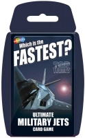 Wholesalers of Top Trumps - Ultimate Military Jets toys image