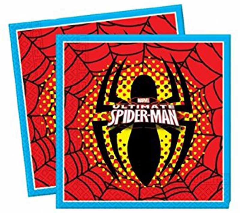 Wholesalers of Ultimate Spiderman Napkins toys