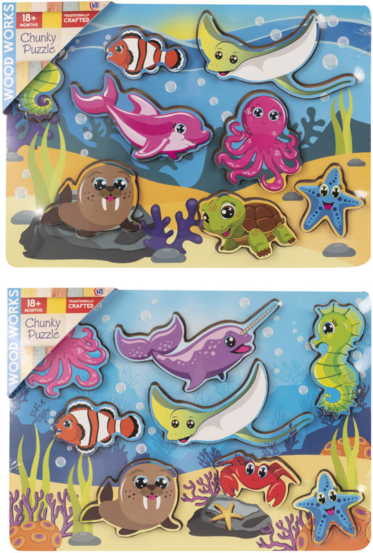 Wholesalers of Underwater Chunky Puzzle toys