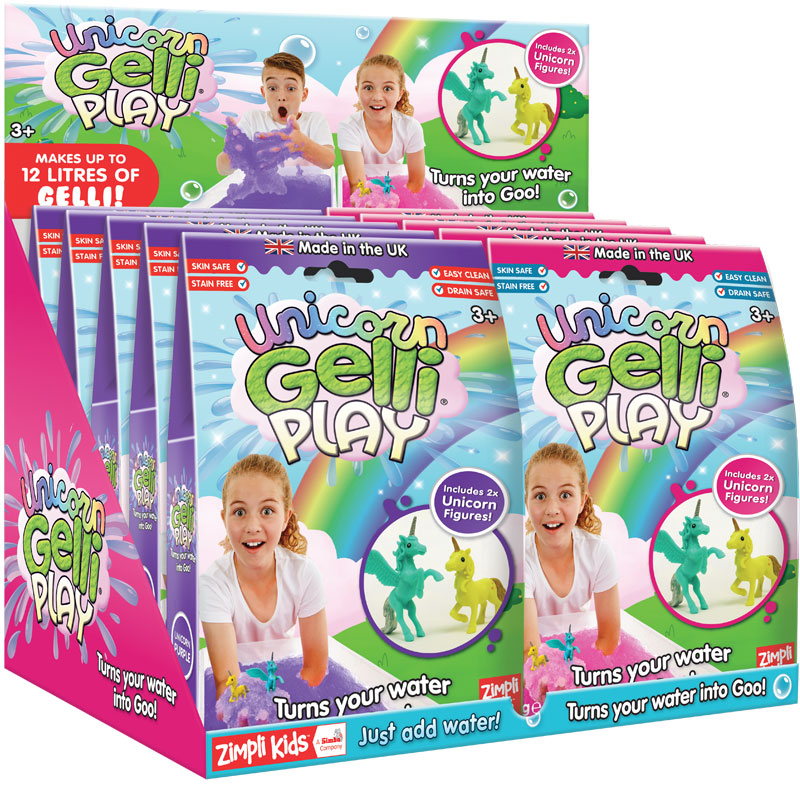 Wholesalers of Unicorn Gelli Play - 60g toys