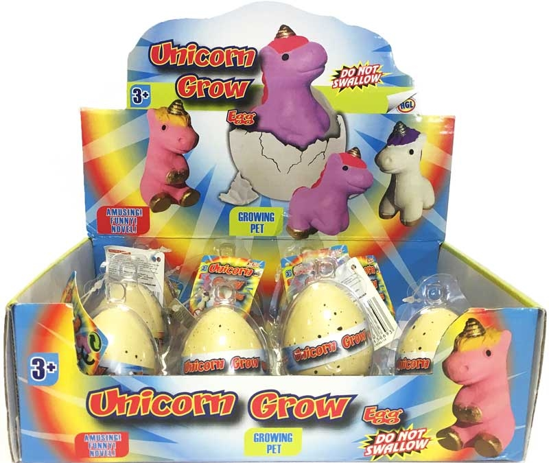Wholesalers of Unicorn Grow Egg toys