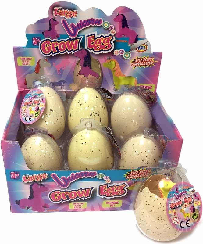Wholesalers of Unicorn Grow Egg toys