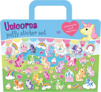 Wholesalers of Unicorn Puffy Sticker Set toys image