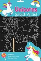 Wholesalers of Unicorn Scratch Art Set toys image