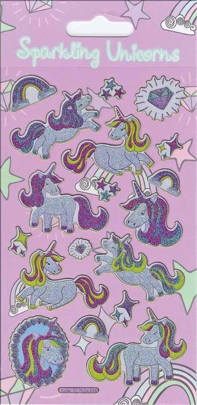 Wholesalers of Unicorns Theme Stickers toys