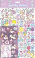 Wholesalers of Unicorns 3 Mega Sticker Pack toys image