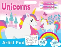 Wholesalers of Unicorns Artist Pad toys image