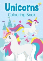 Wholesalers of Unicorns Colouring Book Blue toys image