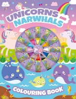 Wholesalers of Unicorns Colouring Book With Crayons toys image