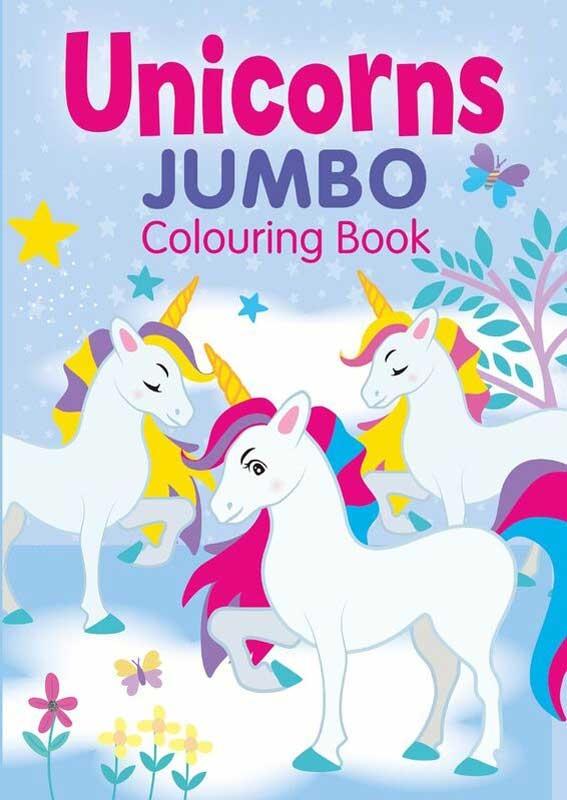 Unicorns Jumbo Colouring Book Wholesale