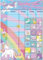 Wholesalers of Unicorns Reward Chart toys image