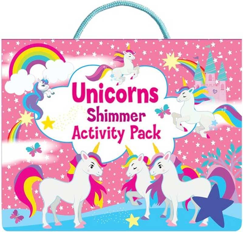 Wholesalers of Unicorns Shimmer Activity Pack toys