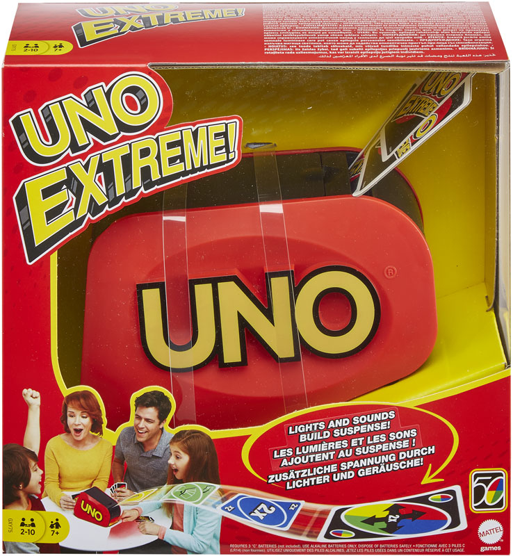 Wholesalers of Uno Extreme toys
