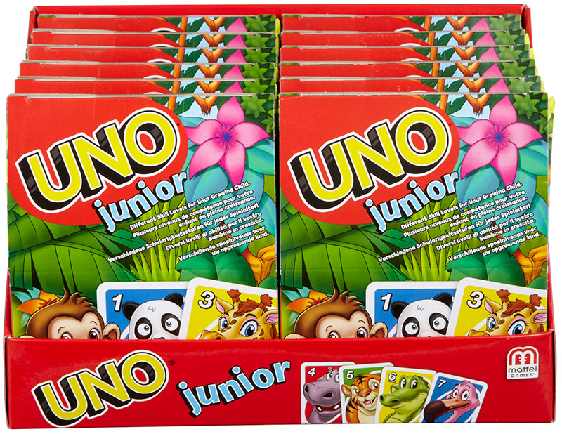 Wholesalers of Uno Junior Card Game toys