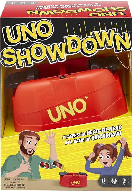 Wholesalers of Uno Showdown toys