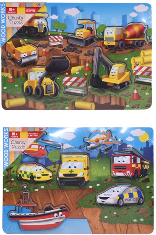 Wholesalers of Vehicle Chunky Puzzle toys