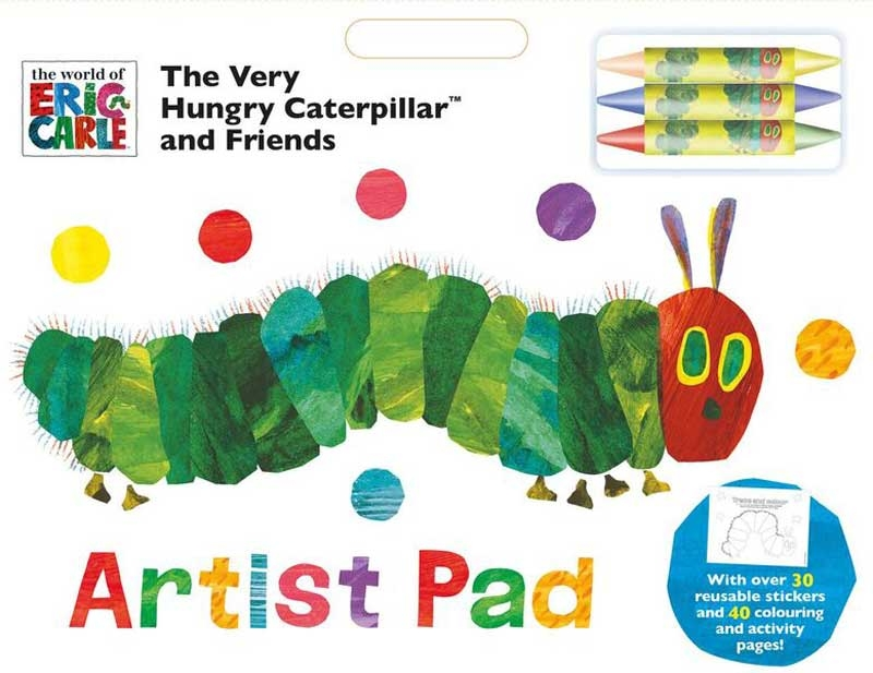 Wholesalers of Very Hungry Caterpillar Artist Pad toys