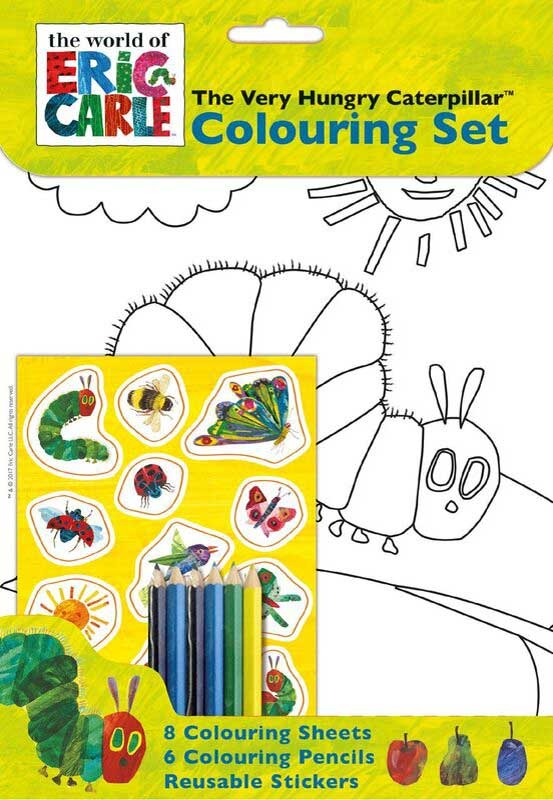 Wholesalers of Very Hungry Caterpillar Colouring Set toys