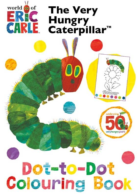 Wholesalers of Very Hungry Caterpillar Dot To Dot Colouring Book toys