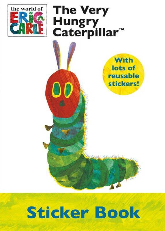 Wholesalers of Very Hungry Caterpillar Sticker Book toys