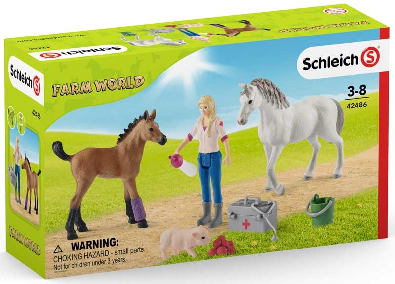 Wholesalers of Schleich Vet Visiting Mare And Foal toys