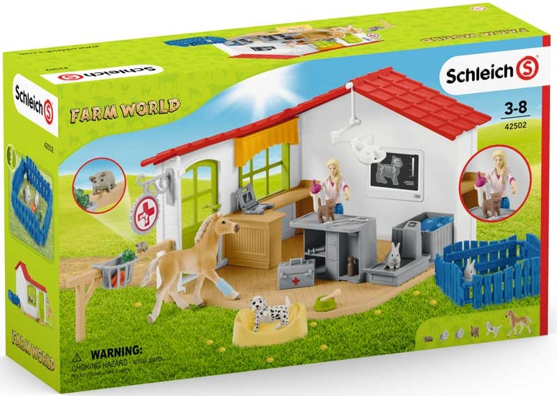 Wholesalers of Schleich Veterinarian Practice With Pets toys
