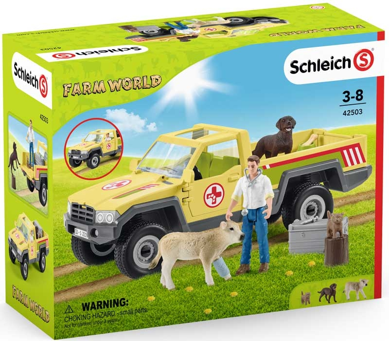 Wholesalers of Schleich Veterinarian Visit At The Farm toys