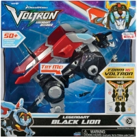 Wholesalers of Voltron Legendary Black Lion Deluxe Figure Eng Ic toys image