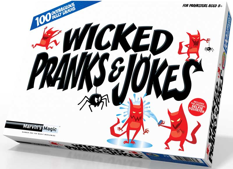 Wholesalers of Wicked Pranks And Jokes toys