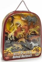 Wholesalers of Wild Animal Backpack toys image