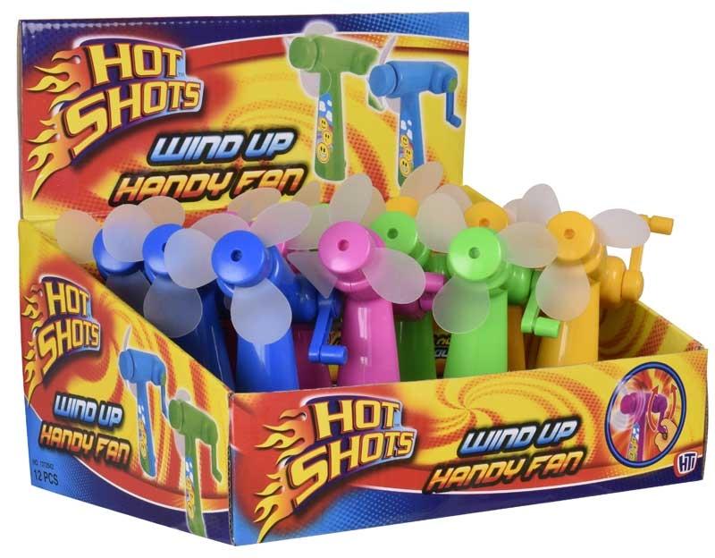 Wholesalers of Wind Up Handy Fan toys